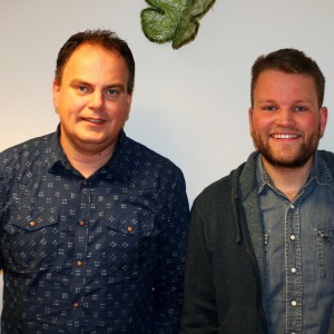 Per Tveten og Kristian Johansen
