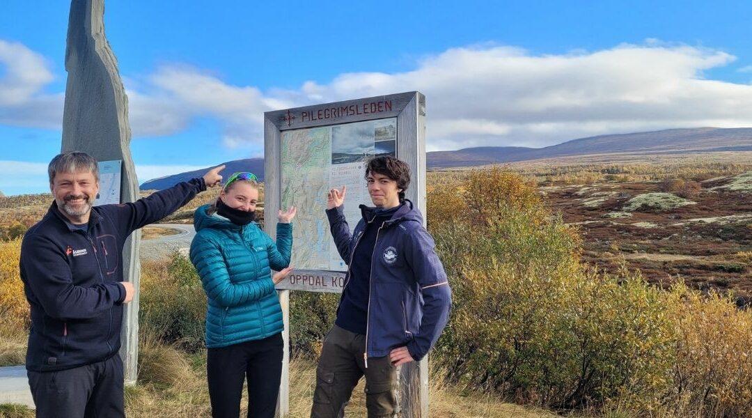 Ålesund Folkehøgskole på pilgrimsvandring