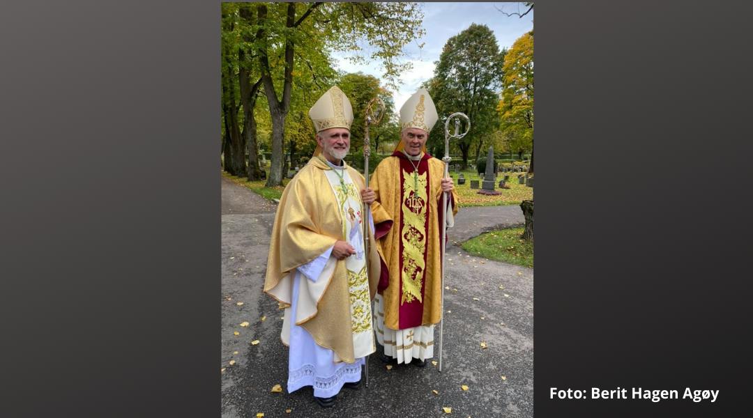 Ottar MYrseth vigsla til biskop